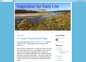 inspirationfordailylife.blogspot.com