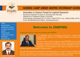inspire.ksrct.ac.in