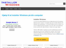 installerwindows.dk