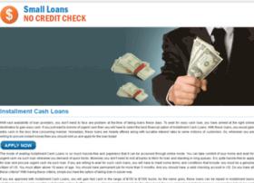 installment.cash.loans.smallloansnocreditcheck.me