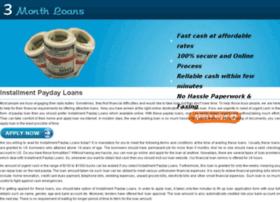 installment.payday.loans.3monthloans.org