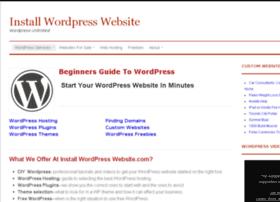 installwordpresswebsite.com
