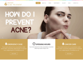 instantacnetreatment.com