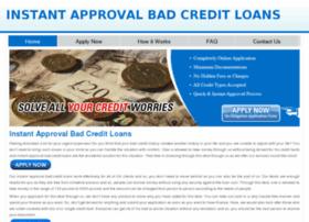 instantapprovalbadcreditloans444.co.uk