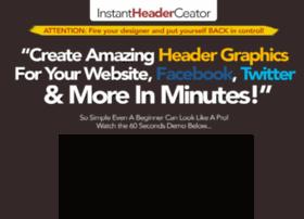 instantheadercreator.com