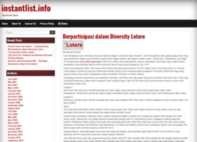 instantlist.info