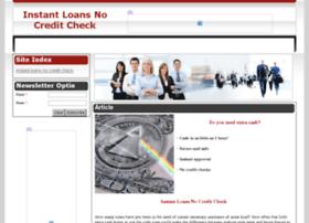 instantloansnocreditcheck.org