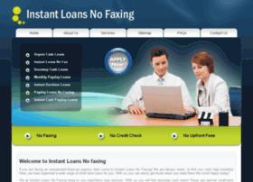 instantloansnofaxing.me.uk
