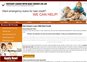 instantloanswithbadcredit.co.uk