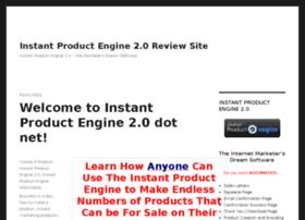 instantproductengine.net