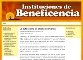 institucionesdebeneficencia.org