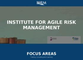 institute.agileriskmanagement.org
