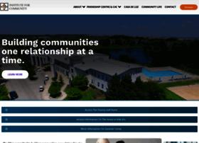 instituteforcommunity.org