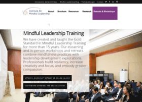 instituteformindfulleadership.org