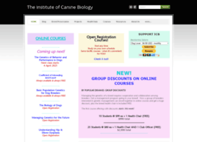 instituteofcaninebiology.org