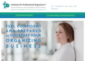 instituteprofessionalorganizers.com