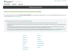institutional.americancentury.com