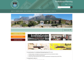 institutionalplanning.uct.ac.za
