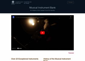 instrumentbank.canadacouncil.ca