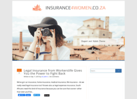 insurance4women.co.za