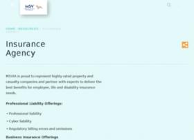 insuranceagency.msv.org