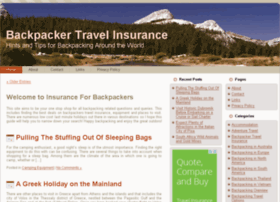 insuranceforbackpackers.com