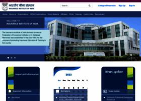 insuranceinstituteofindia.com