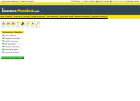 insurancephonebook.com