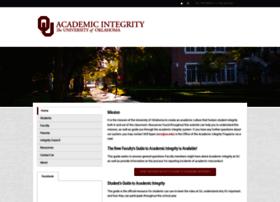 integrity.ou.edu