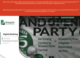 Integritybankandtrust.com
