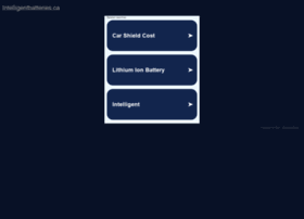 intelligentbatteries.ca