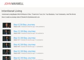 intentionalliving.johnmaxwell.com