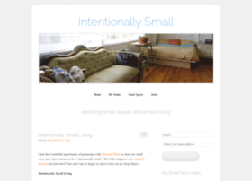 intentionallysmall.com