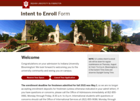 intenttoenroll.indiana.edu