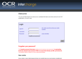 interchange.ocr.org.uk