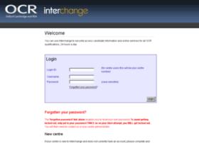 interchange.ocr.org.uk