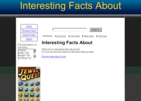 interesting-facts-about.co.uk