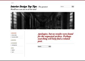 Interiordesigntoptips.wordpress.com