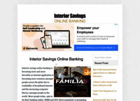 interiorsavingsonlinebanking.com