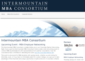 intermountainmbaconsortium.org