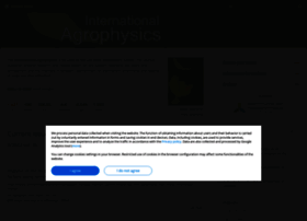 international-agrophysics.org