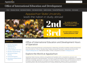 international.appstate.edu