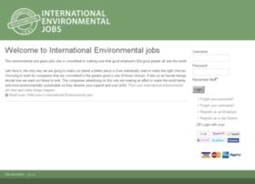 internationalenvironmentaljobs.com