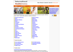 internationalhealthdirectory.com