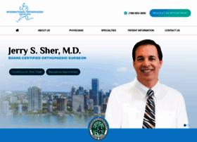 internationalorthopaedicspecialists.com