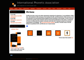 internationalphoneticassociation.org