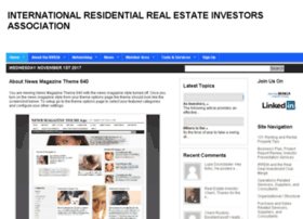 internationalresidentialrealestateinvestorsassociation.org