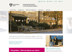 internationalschoolofthestockholmregion.stockholm.se