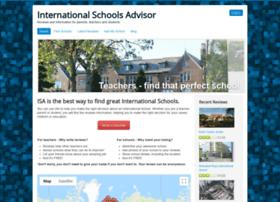 internationalschoolsadvisor.com