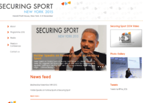internationalsportssecurityconference.com
